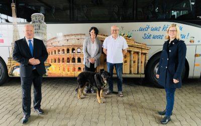 Busunternehmer zählen zu den hauptsächlich Betroffenen der Corona-Pandemie