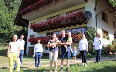 Besuch beim Geigerhof in Mühlenbach