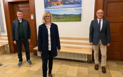 Zu Besuch bei Roland Tibi, Bürgermeister in Elzach