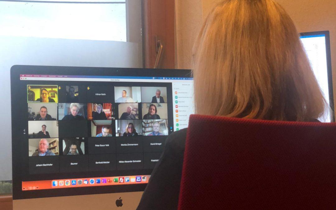 Onlinetalk von Jutta Zeisset mit Justiz- & Tourismusminister Guido Wolf: