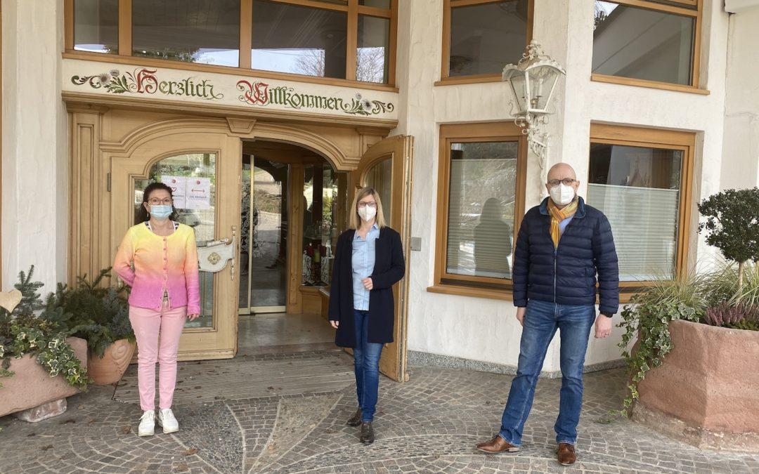 Jutta Zeisset on Tour im ZweitälerLand – Elztalhotel