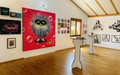 BZ Hautnah in der Golden Ei Gallery